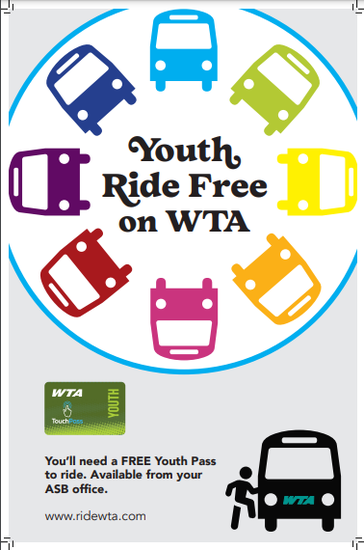 WTA Youth Ride Free