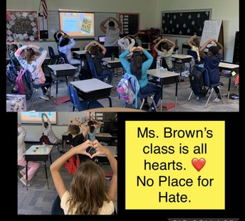Mrs. Brown's Class is all Hearts!