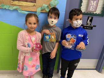 Kindergarten T/TH Gotcha Winners
