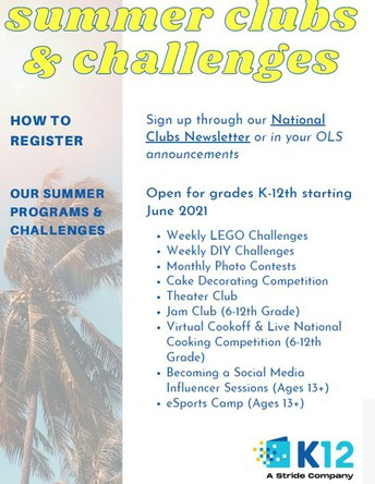Welcome to Summer with WAVA and K12/Stride