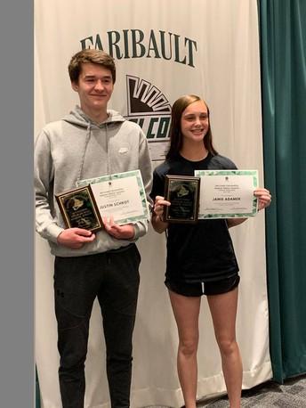 Schrot, Adamek win FMS athletic awards