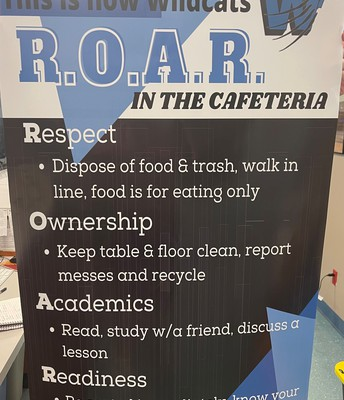 ROAR Cafeteria Expectations