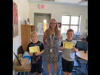 Positive Principal Time Winners!