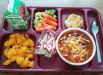 PCHS Cafeteria News