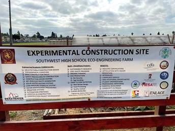 Southwest High School host interactive tour of farm