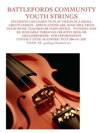 Battleford Community Strings Program
