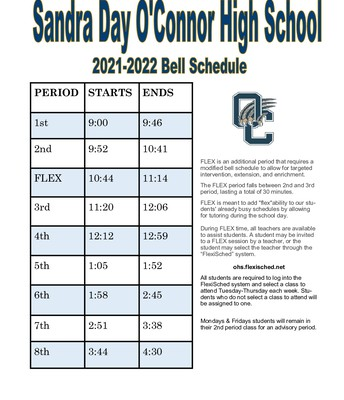 OHS Bell Schedule