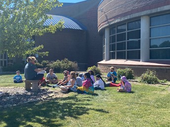 A beautiful day for outdoor reading