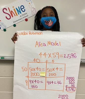 Ms. Frazier's 5th gr. student