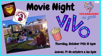 Hispanic History Month: Title I Movie Night