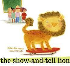 The Show and Tell Lion
