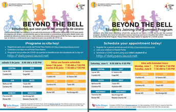 Beyond the Bell Summer Programs