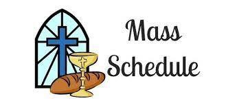 Wednesday Mass at 8:00 AM
