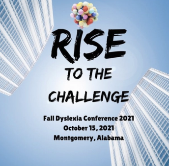 October 15: Rise to the Challenge Fall Dyslexia Conference