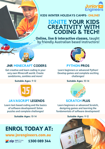 Ignite your kids creativity with Coding and Tech