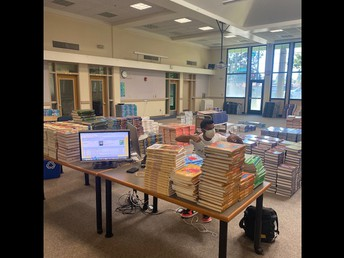 Book Distribution is Almost Done!