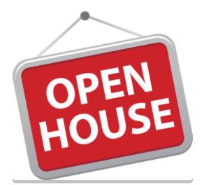 Open House 9/29: