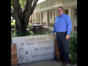 Assistant Principal for Curriculum & Instruction-Mr. Cordovi