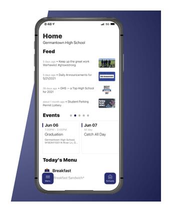 District Website & App