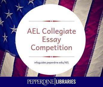 AEL Collegiate Essay Contest