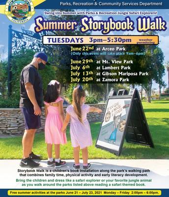Summer Storybook Walk