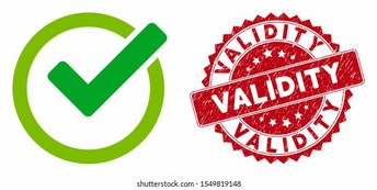 Validity: Does it measure what it intends to measure?