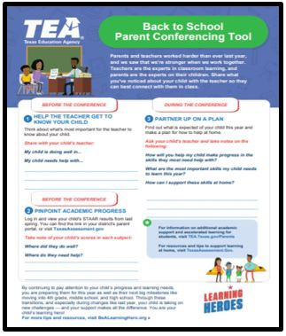 School Parent Conferencing Tool