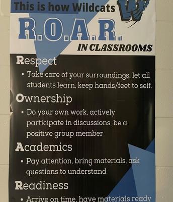 ROAR Classroom Expectations