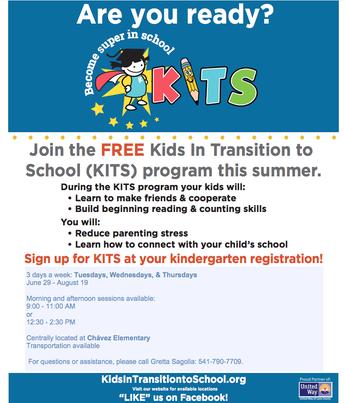 Summer Program: Kids In Transition to School