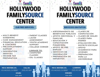 Hollywood Family Source Center!
