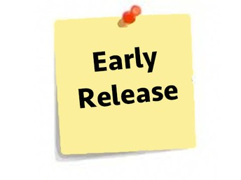 School Released at 12:30 Sept. 28 & 29