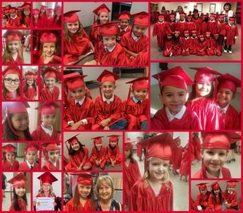 Kindergarteners Graduate!