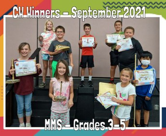 MMS Sept. Monthly Winners