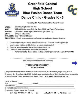 Blue Fusion Dance Team