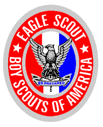 Citations for three Eagle Scouts at Court of Honor