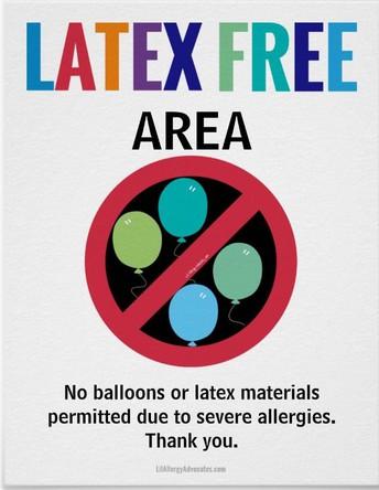 Latex Free School
