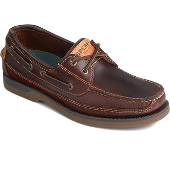 Sperry Men's Mako Casual Boat Shoe (BROWN ONLY)  Gr. 6-8