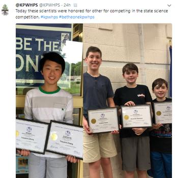 CT Science Fair Winners
