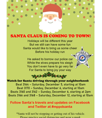 MPPD - Santa is coming to TOWN!