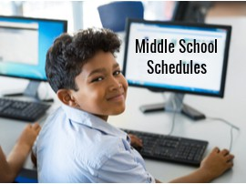 Middle School 6-8 Grades Schedule