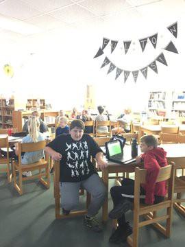 Library Kahoot.