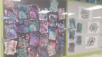 Artists at Wm. E. Hay Settler Secondary Campus