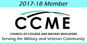 Council of College and Military Educators: Scholarships