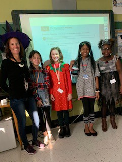 6th Graders representing on dress up day