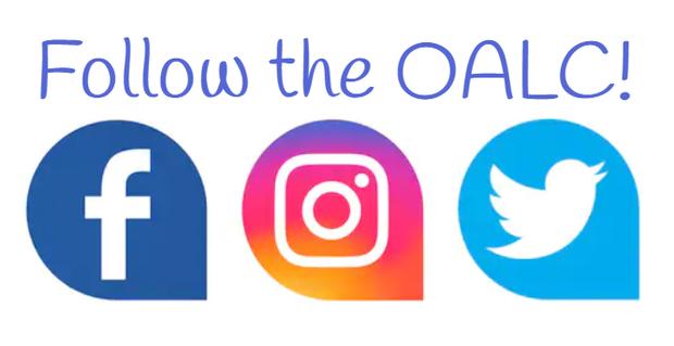 Follow the OALC on social media