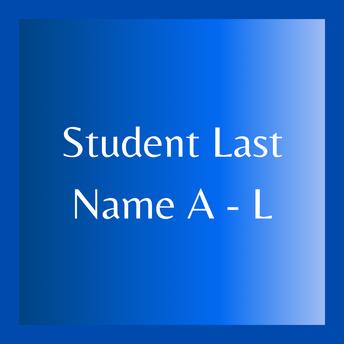 Student Last Name: A-L