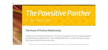Pawsitive Panther Newsletter