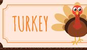 Turkey Bingo Stubs and Money Due Tomorrow