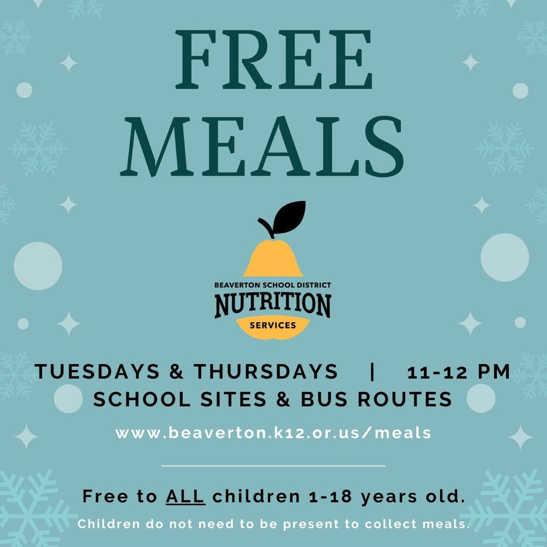Free Meals picture