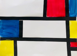 """Piet Mondrian Abstract"""
